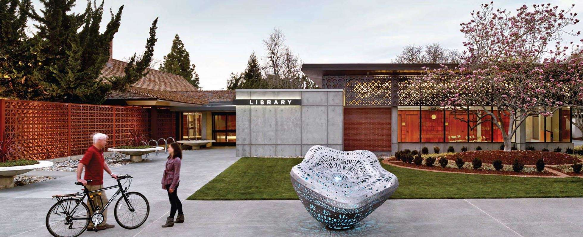 Palo Alto Rinconada Library Exterior